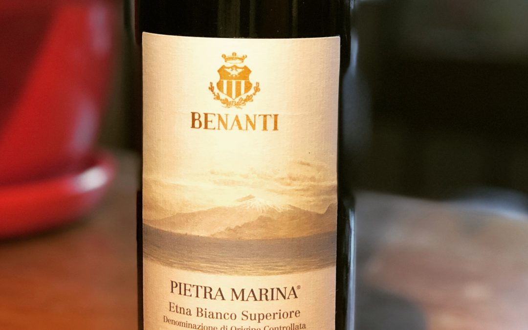 """This Mt Etna White -Let's Call it a """"Grand Crus"""""""