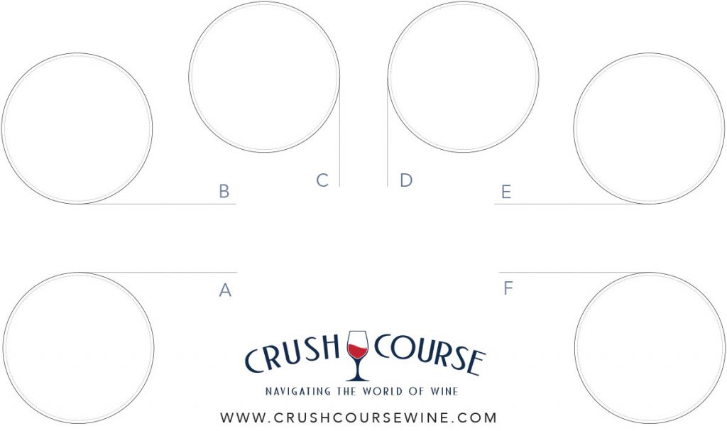 Crush Course© Tasting Mat